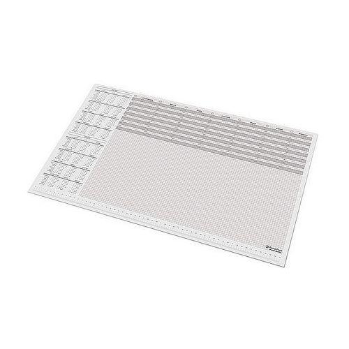 Kalendarz biuwar z listwą A2 590x395mm Panta Plast 0318-0031-99