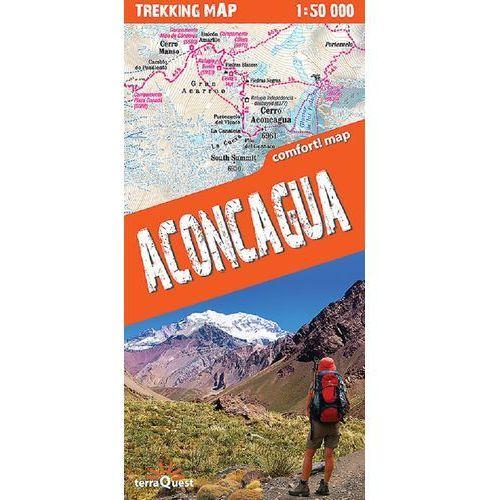 Aconcagua Laminowana mapa trekingowa (2013)