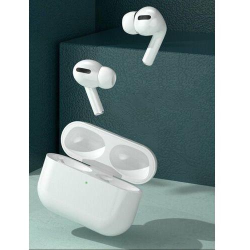 WK Design dokanałowe bezprzewodowe słuchawki Bluetooth TWS ANC biały (A7 white)