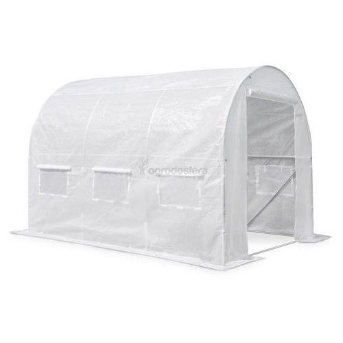 Garden point Namiot foliowy metalowy 2,5x4m biały - transport gratis!