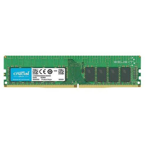 Pamięć RAM 1x 32GB Crucial ECC REGISTERED DDR4 2Rx4 2666MHz PC4-21300 RDIMM | CT32G4RFD4266