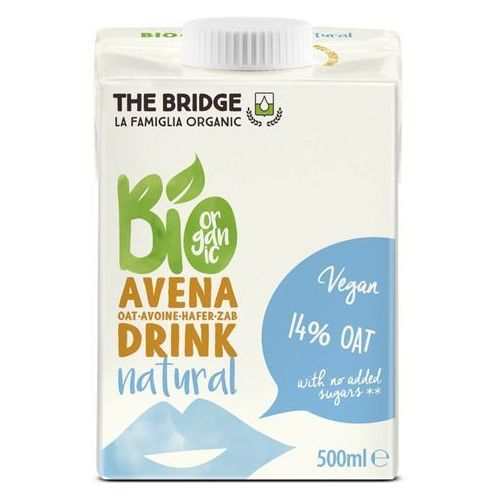 Napój mleko owsiane naturalne 500ml - the bridge - eko hit! marki 121the bridge