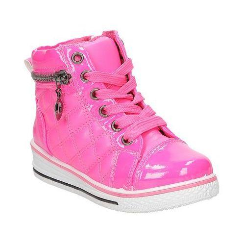 Sneakersy z ozdobnym zamkiem  r12d-4 marki Casu