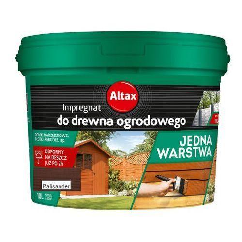 - impregnat do drewna ogrodowego, palisander, 10 l marki Altax