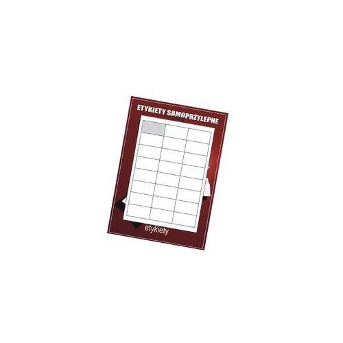 Etykiety samoprzylepne białe 64.6x33.8/24szt (100)