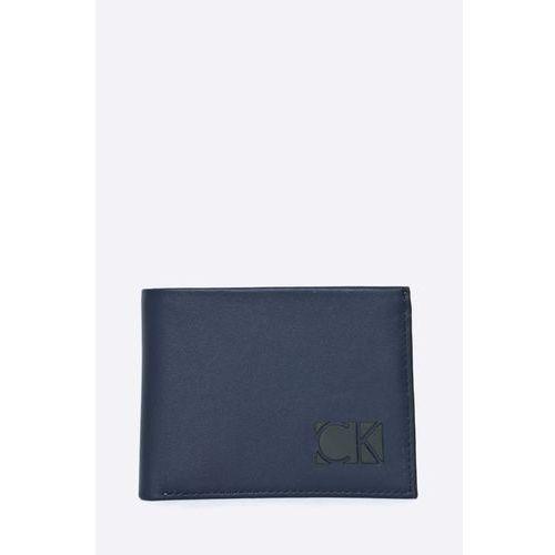 Calvin Klein Jeans - Portfel skórzany + brelok