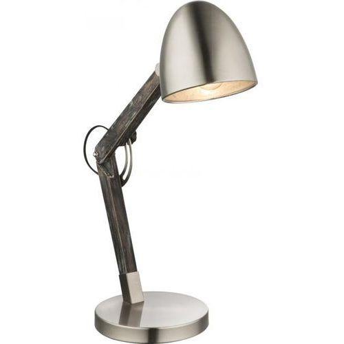 Globo lighting Globo gaua lampa stołowa siwy, 1-punktowy - rustykalny - obszar wewnętrzny - gaua - czas dostawy: od 2-3 tygodni