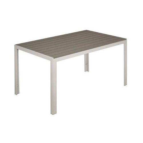 Home & garden Stół ogrodowy ibiza 80 x 150 cm aluminiowy
