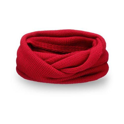 Zimowy komin damski PaMaMi - Czerwony - Czerwony