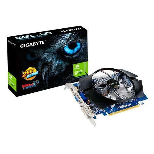 GeForce CUDA GT 730 GPU 2048MB DDR5 64BIT/DVI/HDMI/DSUB, GV-N730D5-2GI