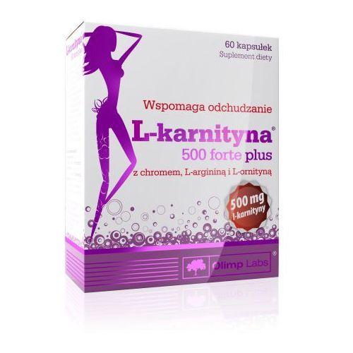 Olimp L-Karnityna 500 forte plus 60 kapsułek (2010000279427)