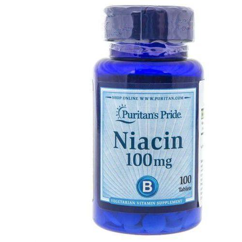 Puritan's Pride Niacyna 100 mg - 100 tabletek