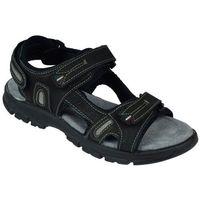 Męskie sandały 81551n4-33588 czarny 44, Grisport