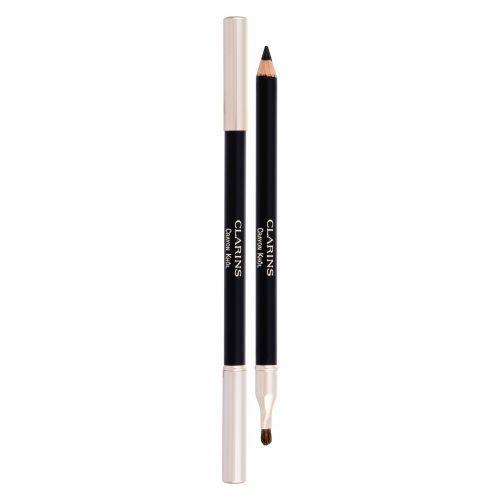 Clarins long-lasting eye pencil kredka do oczu 1,05 g dla kobiet 01 carbon black (3380814210916)