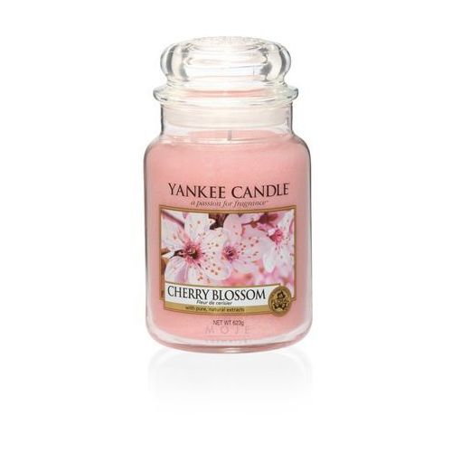 Świeca zapachowa duży słój Cherry Blossom 623g