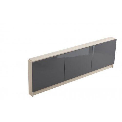 obudowa meblowa - panel czołowy wanny smart 170 - jasny jesion/szary s568-027 marki Cersanit