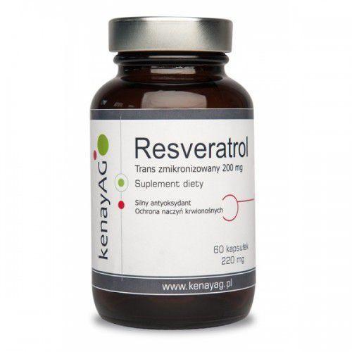 Resveratrol trans - zmikronizowany 200 mg (60 kapsułek)resweratrol