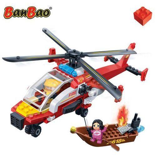 Klocki BAN BAO Straż pożarna - Helikopter strażacki 191 elementów Darmowa wysyłka i zwroty