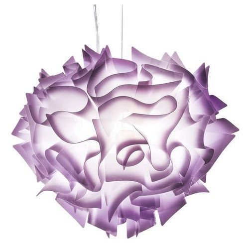 Przekonująca lampa wisząca VELI, 60 cm, śliwkowa