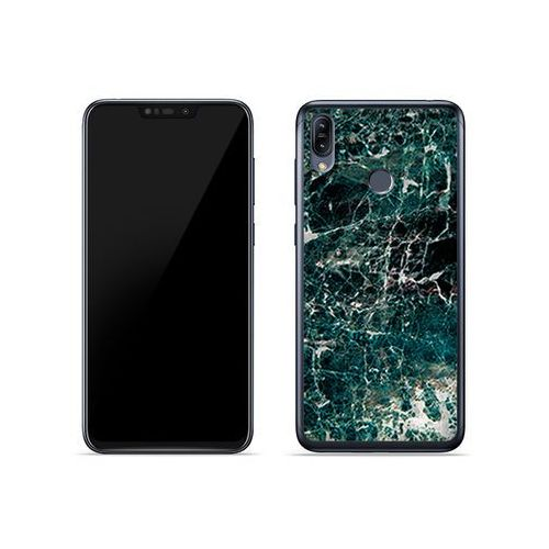 Asus zenfone max (m2) (zb633kl) - etui na telefon fantastic case - zielony marmur marki Etuo fantastic case