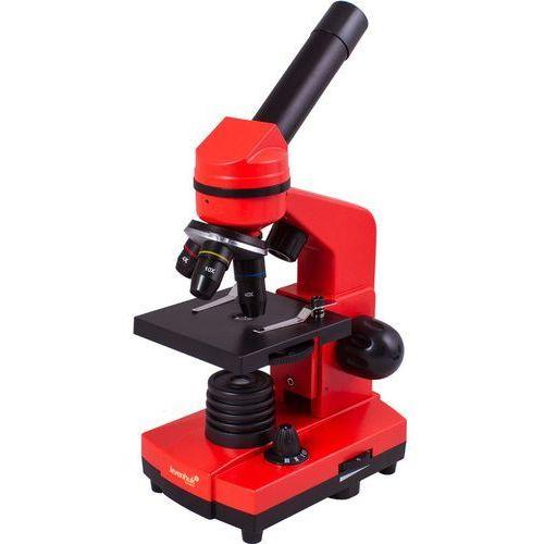 Mikroskop LEVENHUK Rainbow 2L Pomarańczowy + DARMOWY TRANSPORT! (0611901506517)