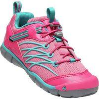 buty rekreacyjne dziecięce chandler cnx y-bright pink/lake green us 3 (eu 35) marki Keen