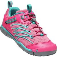 buty rekreacyjne dziecięce chandler cnx y-bright pink/lake green us 5 (eu 37) marki Keen