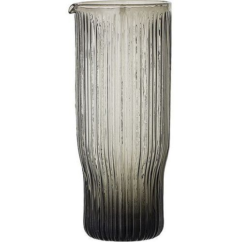 Karafka szklana Bloomingville szara
