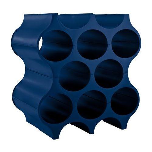 Stojak na butelki Set Up welwetowy błękit, 3596585