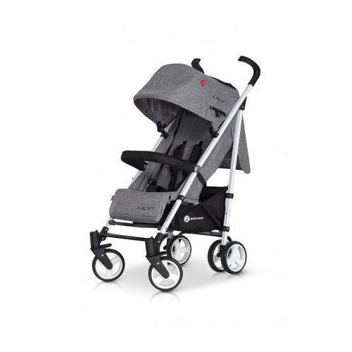 Euro-Cart Mori wózek spacerówka spacerowy aluminiowy Carbon, towar z kategorii: Wózki spacerowe