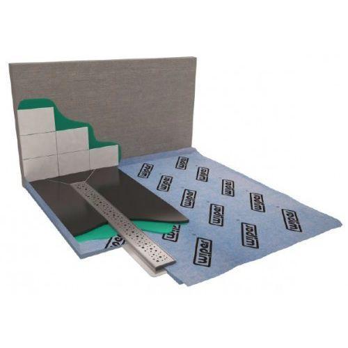 showerbase płyta prysznicowa z odpływem liniowym pl 120x120 cm marki Wiper