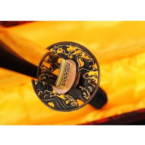 Miecz samurajski katana do treningu, stal wysokowęglowa 1095, hartowana glinką r720 marki Kuźnia mieczy samurajskich