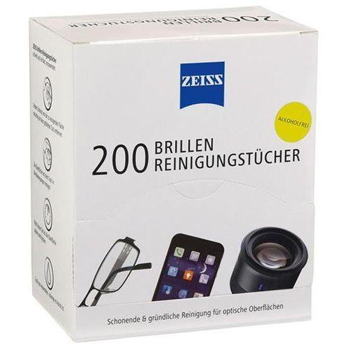 Zeiss Chusteczki do czyszcz. okularów i wyświetlaczy 200 szt. białe