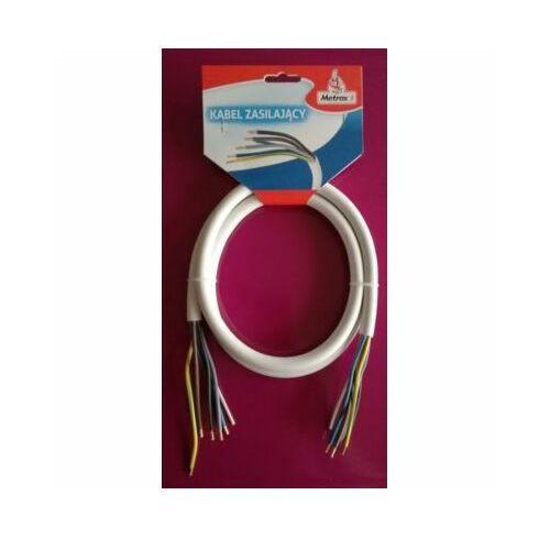 Kabel zasilający do sprzętu AGD METROX 5x2,5 dł.1,5 m (5908230163067)