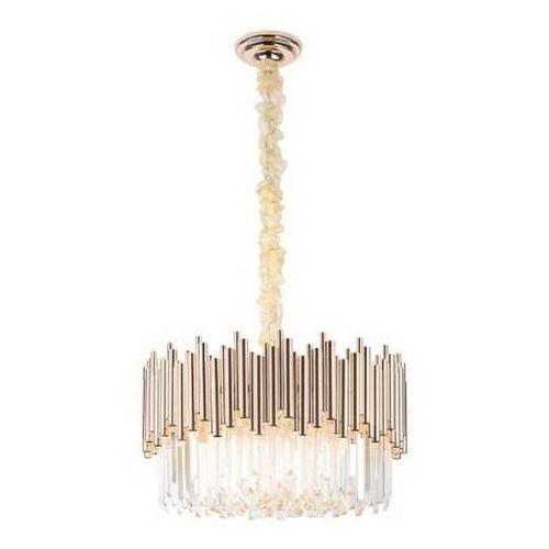 Lampa wisząca MAXlight Vogue P0284 zwis 12x40W E14 złota, P0284