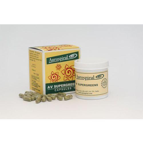Aurospirul Av supergreens (100 kapsułek)-