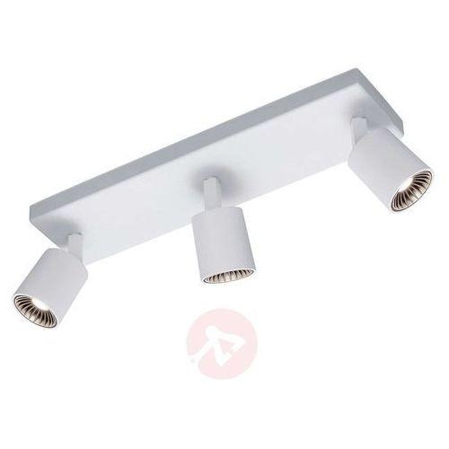Trio CAYMAN lampa sufitowa LED Biały, 3-punktowe - Nowoczesny - Obszar wewnętrzny - CAYMAN - Czas dostawy: od 4-8 dni roboczych (4017807256895)