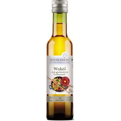 Olej do przygotowania potraw w woku bio 250 ml - bio planete marki Bio planete (oleje i oliwy)