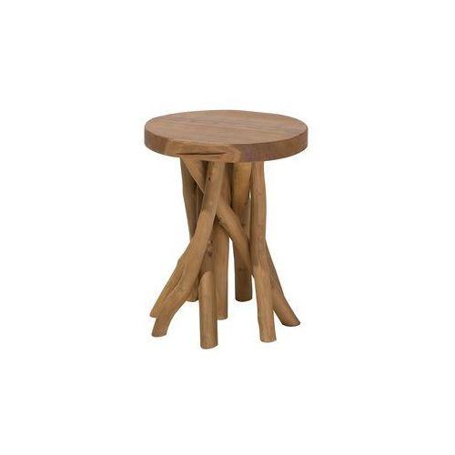 Stolik kawowy drewno tekowe merritt marki Beliani
