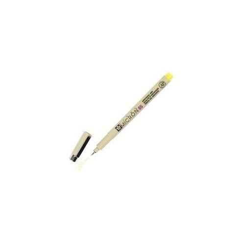 Bruynzeel/sakura Sakura pigma 05 micron cienkopis 03 yellow 0,45mm