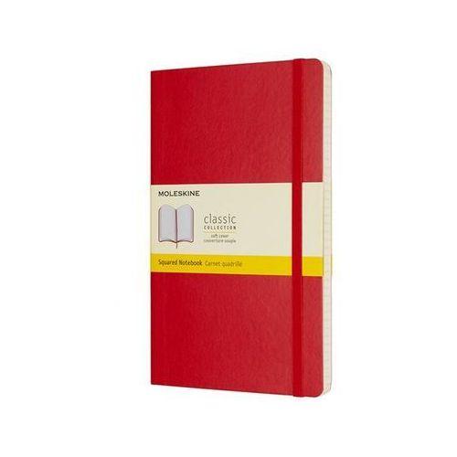Moleskine Notes classic l w kratkę czerwony - moleskine (8055002854641)
