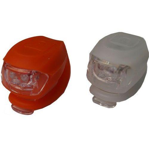 Olpran Zestaw sylikonowych świateł - White/Red