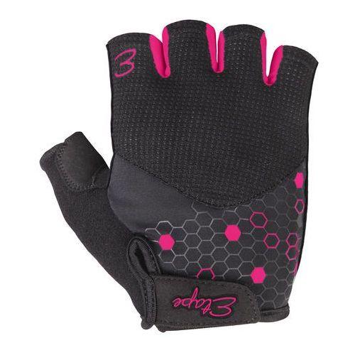 Etape rękawiczki rowerowe damskie Betty, czarno-różowy S