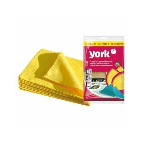 York Ściereczka 020340 lux 8+2 szt.