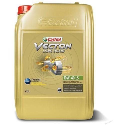 Castrol Olej  vecton long drain 10w40 ls 20 litrów (enduron 10w40 low saps) !odbiór osobisty kraków! lub wysyłka (4008177102127)