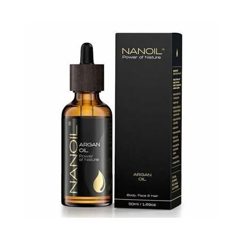 Nanoil Olejek kosmetyczny arganowy 50 ml (5905669547123)