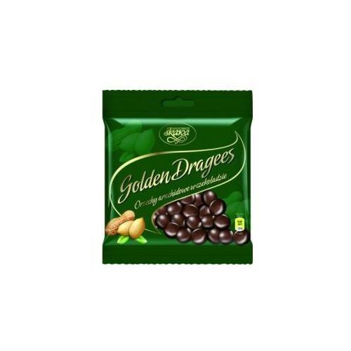 Skawa Draże golden dragees orzechy arachidowe w czekoladzie 100 g  (5902978020422)