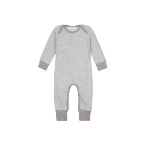SENSE ORGANICS Baby Śpioszki WAYAN pinny stripes grey marl, kolor szary