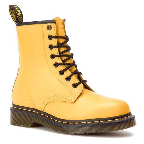 Glany DR. MARTENS - 1460 Smooth 24614700 Yellow, w 5 rozmiarach
