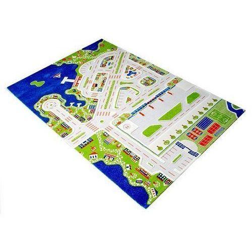 Dywan Miasto Portowe 3D 150 x 220 cm